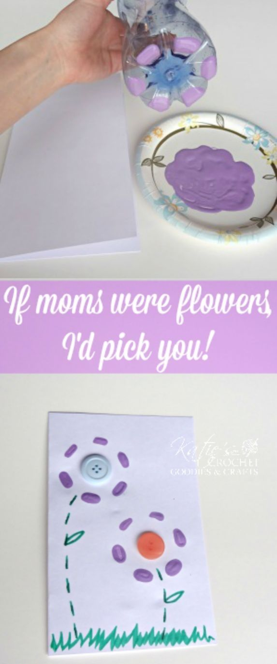 Easy Mother's Day Cards & Crafts for Kids to Make - Sassy Dealz