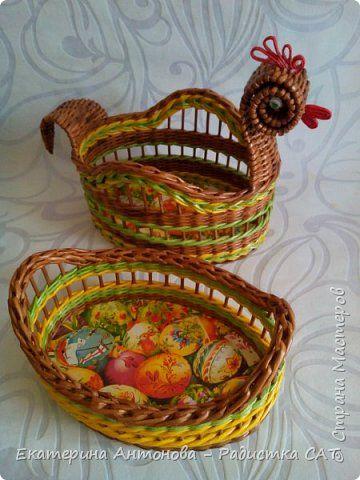 Пасхальные плетёнки. фото 11