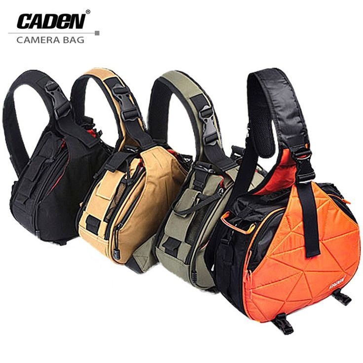 Cheapest prices US $17.36  Caden Waterproof Travel Small DSLR Shoulder Camera Bag with Rain Cover Triangle Sling Bag for Sony Nikon Canon Digital Camera K1  Available latest products: Samsung