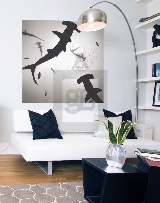 Adhesive Wall Art 71 best large & oversize wall art for the home images on pinterest