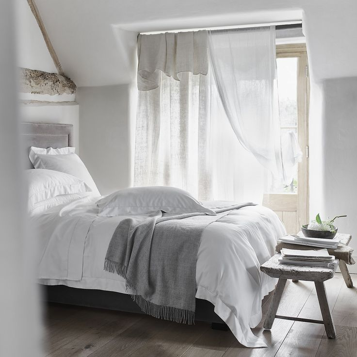 Connaught Bed Linen Collection | Bed Linen | Bedroom | The White Company UK