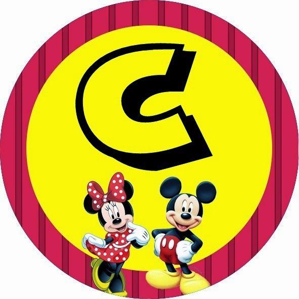 Alfabeto of Minnie and Mickey