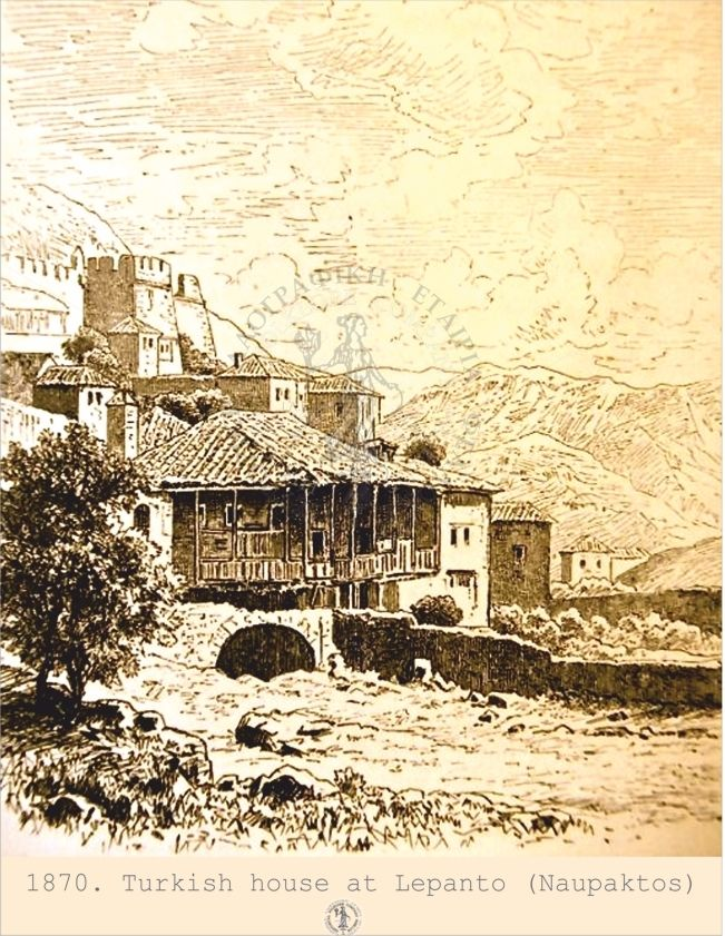A turkish house at Lepanto.