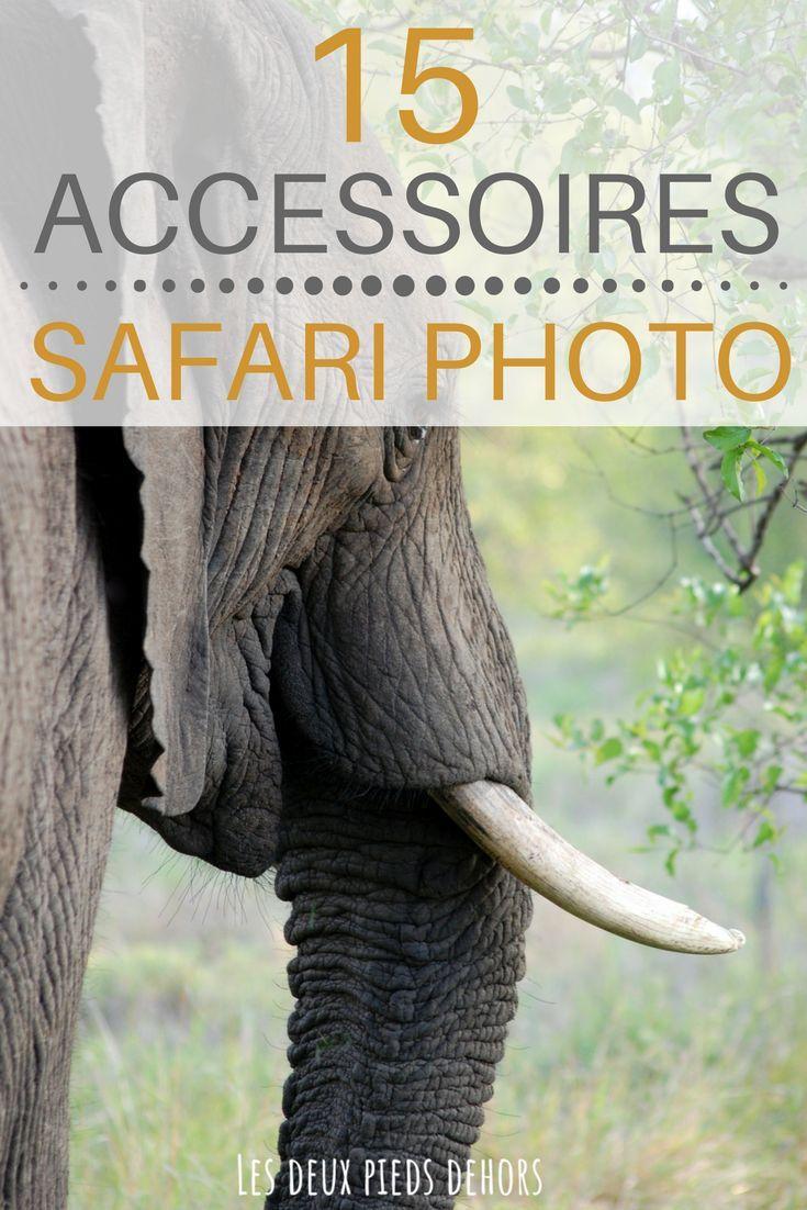 Vous partez en safari photo, en Asie, en Afrique, Kenya, Tanzanie ? Je vous liste ma top liste des 15 accessoires indispensables à ne pas oublier lors d'un safari. J'ai passé une semaine en Tanzanie, inoubliable ! #safari #tanzanie #kenya #canon #photo #afrique