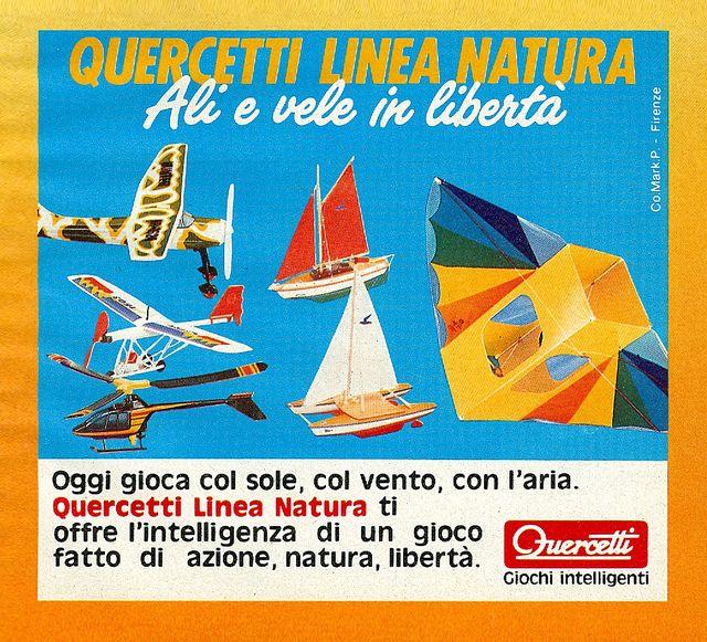 #Quercetti Linea Natura. Ali e vele in libertà, via Flickr.