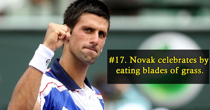 22 Interesting Facts About The Serbian Tennis God Novak Djokovic