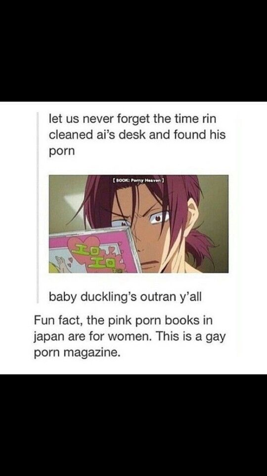 I was laughing out loud when I saw that scene, I had to stop the video for 5 minutes - Rin Matsuoka - Free!