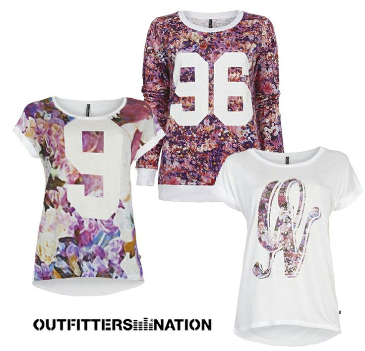 Work for the Teenage Fashion Brand Outfitters Nation - Design & Print for the Expression Collection May 2014