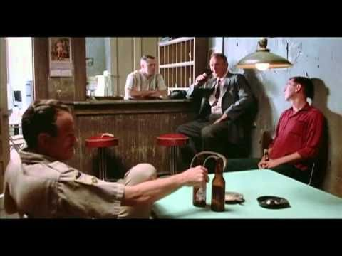 "From MISSISSIPI BURNING (1988) ""You need a membership to drink in here"""
