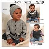 Baby katalog no. 29, Trunte fra Hjertegarn