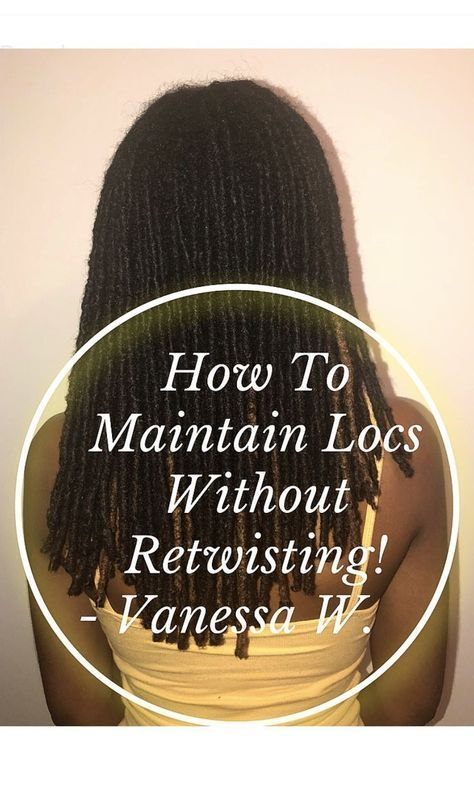 Check out my blog post about how to maintain locs without retwisting! Two times a year I give my hair a break from retwisting and give my hair a thorough rinse using an apple cider vinegar based product. I also include reviews of products I use from Cantu Shea Butter, Alikay Naturals, and Design Essentials! Click to learn more!