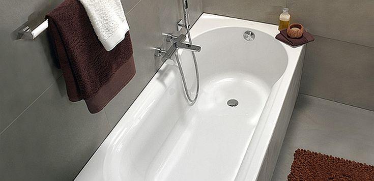 bad douche combinatie - ligbad met bredere douchezone