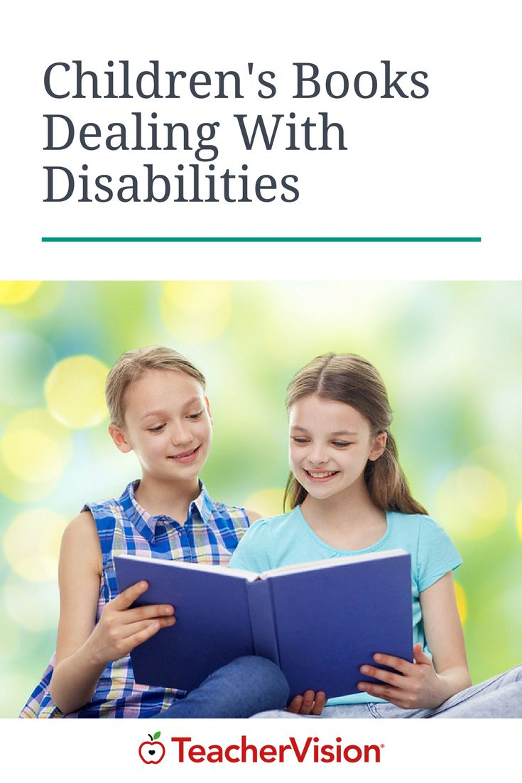 This extensive list details books for both children and adults that deal with disabilities. The books are sorted by readability and their descriptions include the type of disability addressed. (Grades Pre-K-12) | TeacherVision