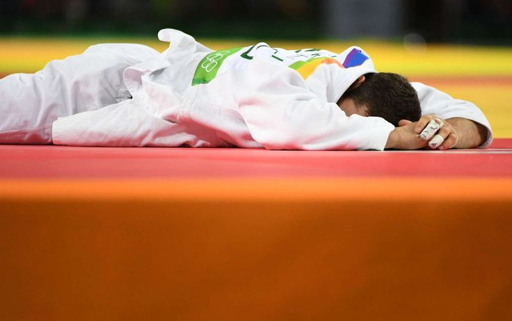 Rio Olympics: Highs and lows from day four:       Tchrikishvili's emotional loss:    Avtandil Tchrikishvili of Gerogia reacts after loosing to Travis Stevens of USA during Men's judo 81 kg semifinals.