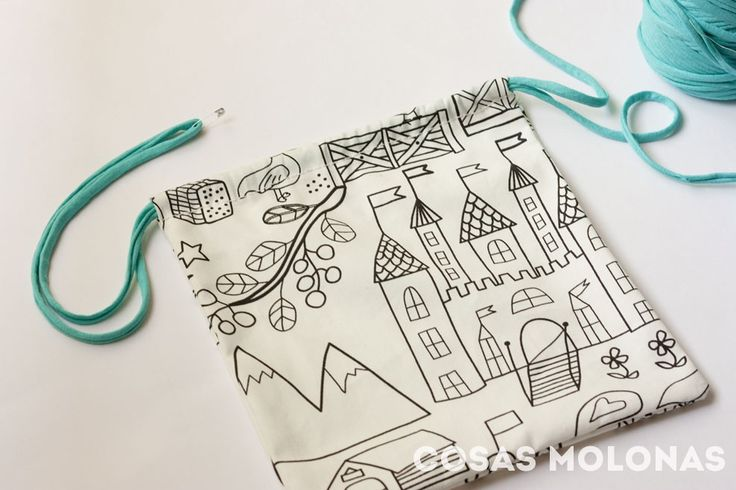 DIY vuelta al cole: bolsa de tela para la comida