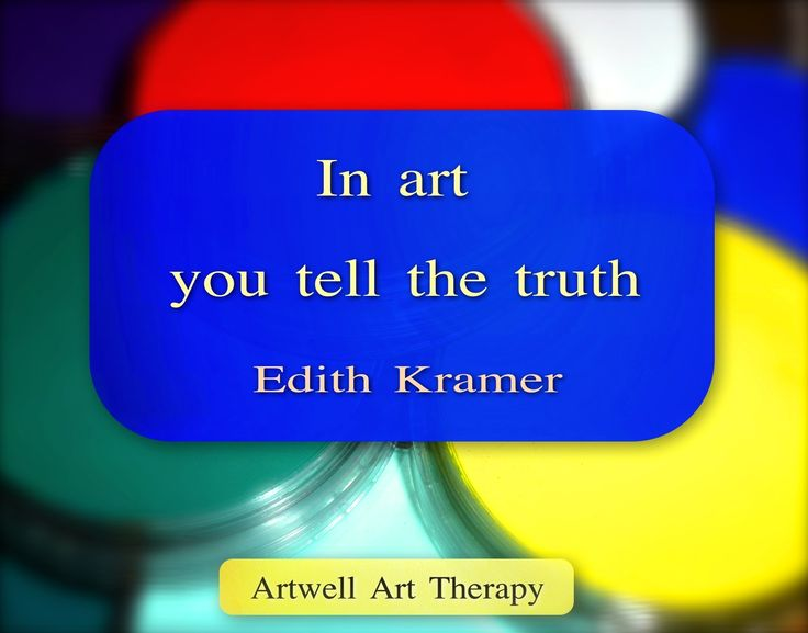 Words from an art therapy pioneer.
