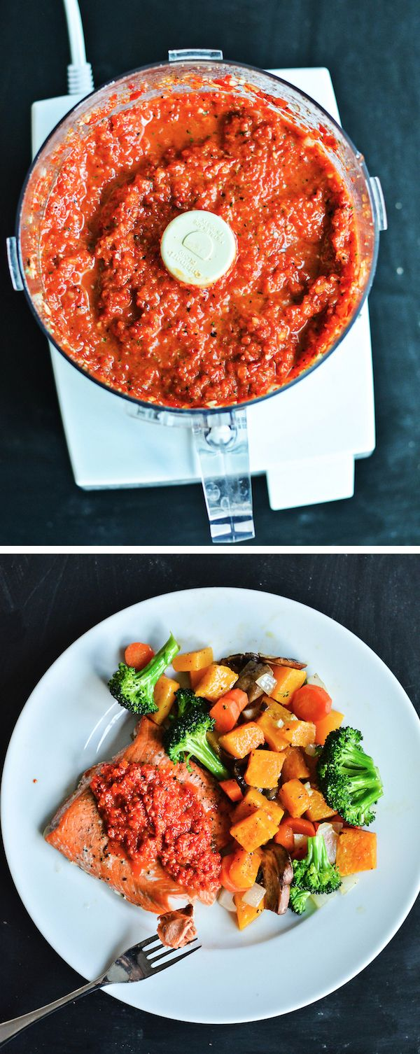 ROASTED RED PEPPER SAUCE - grain, sugar, and dairy free