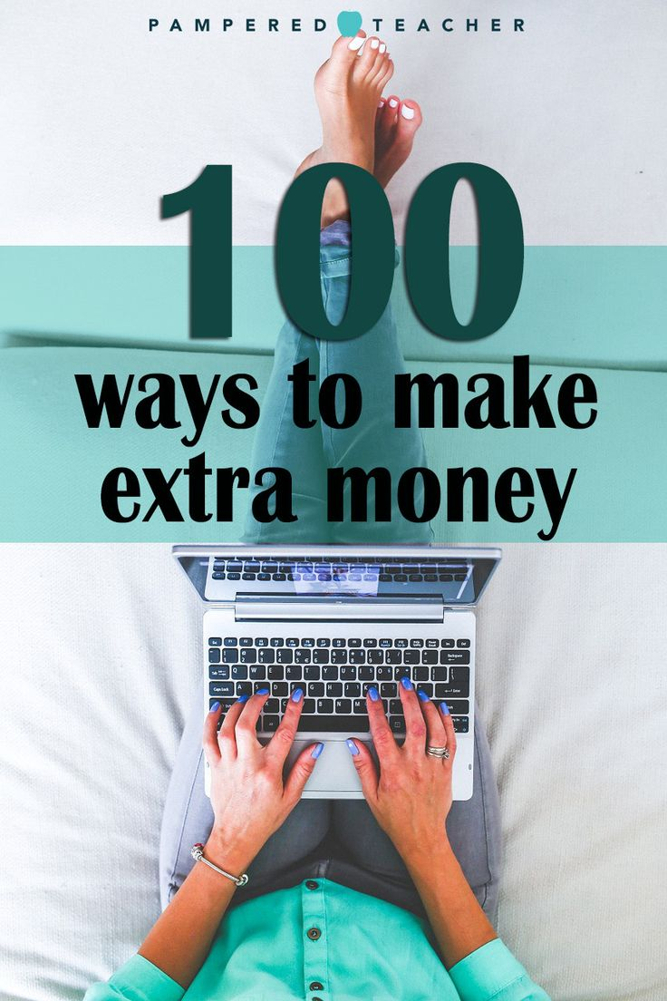 100 Side Hustles for Teachers (With images) Make more