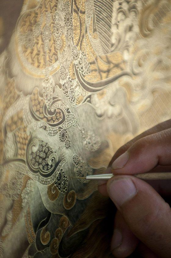 """""""Thangka"""" (Tibetan silk painting)"""