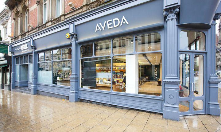 Aveda Lifestyle Salon & Spa flagship by Reis Design, Leeds