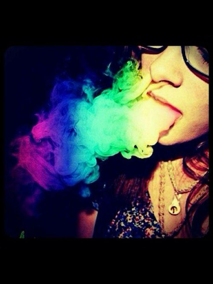smoke weed with color - photo #7