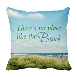 scenic beach photo pillow
