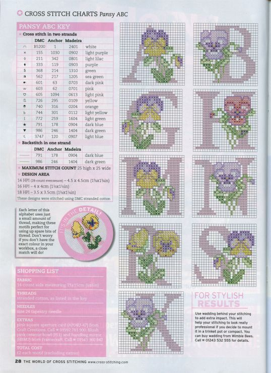 Gallery.ru / Photo # 15 - The world of cross stitching 107 February 2006 - tymannost