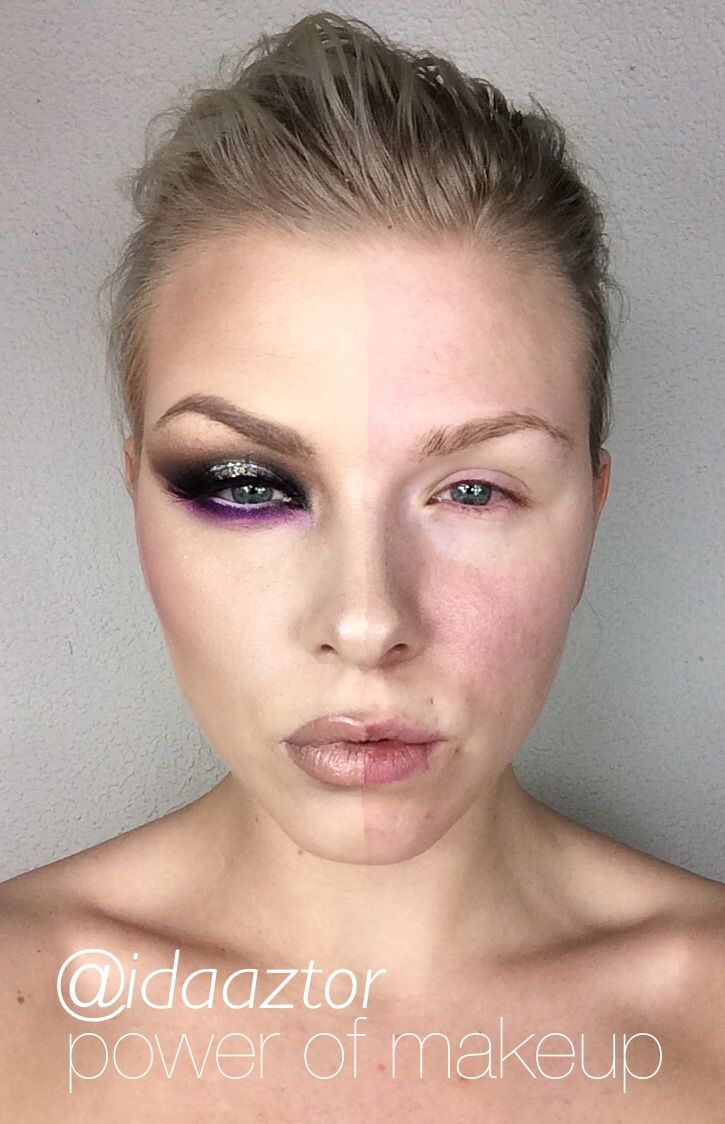 ?POWER OF MAKEUP? I uploaded this look on Instagram and it got very popular! many likes and a lots of [...]