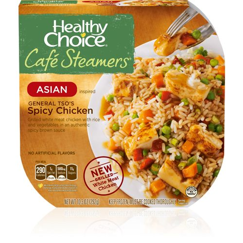 Healthy Choice  - Café Steamers - Asian Inspired - General Tso's Spicy Chicken