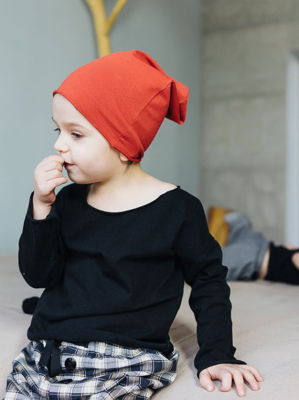Cap POPPY - Pan Pantaloni Summer Tribes 2015 collection. Beanie-style cap made of delicate cotton. #summer #fashion #kids