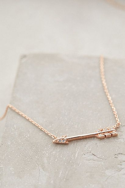 Archer's Arrow Necklace - anthropologie.com #giftideas #vday