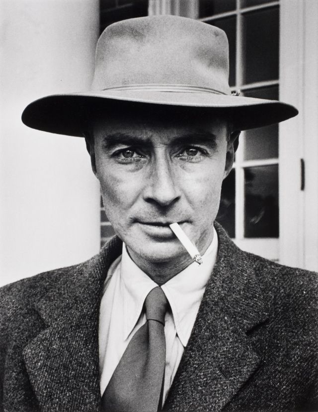 J. Robert Oppenheimer, father of the atomic bomb ca. 1947  Alfred Eisenstaedt