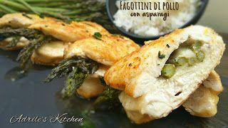 Adrile's Kitchen: Fagottini di pollo con asparagi