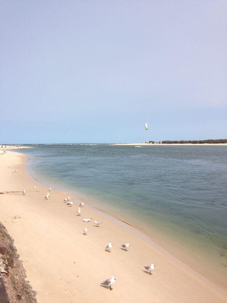 Caloundra Pumicestone Passage Bulcock Beach.