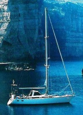Jimmy Cornell & Bill Dixon Steel Custom Design – 'LA AVENTURA' FOR SALE