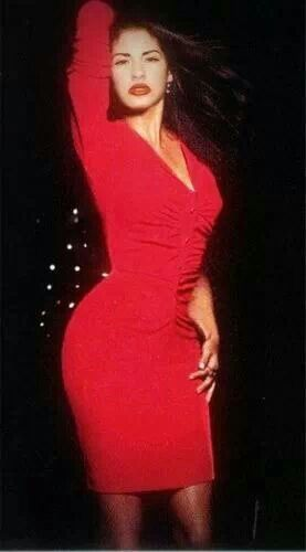 Selena Quintanilla Perez. She never worked out, ate lots of pizza, soda, and chips but danced a whole lot of CUMBIA!