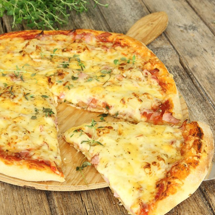 Ljuvligt god pizza som man inte får nog av