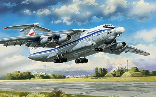 Beriev A-60 Airborne laser laboratory. A Model, 1/72, injection, No.AMU72025. Price: 179,56 GBP.