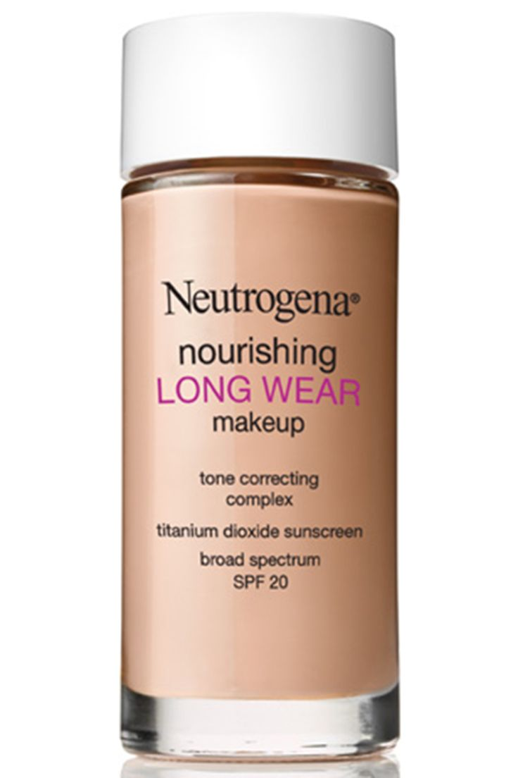 Charting: Best New Foundations for Every Skin Need - Best Long-Wearing: Neutrogena Nourishing Long Wear Makeup, $15, ulta.com.   - HarpersBAZAAR.com