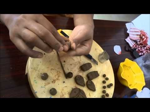Terracotta Jewellery Making Part 1 - YouTube