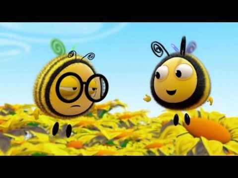 Мультики для детей М+: Пчелиные истории - День спорта, 8 серия - YouTube