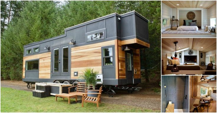 The talented team at Tiny Heirloom in Portland, Oregon have produced some of our favorite tiny houses with beautiful craftsmanship and stylish designs. This next tiny home is no different.