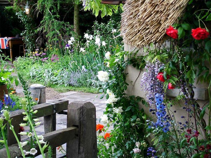 M s de 25 ideas incre bles sobre jardines r sticos en for Jardines rusticos