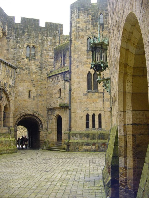 The Courtyard, Alnwick Castle