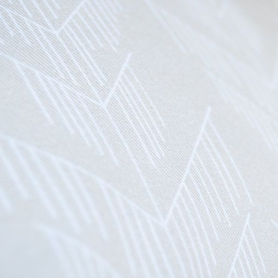 Pillowcase, creme and white