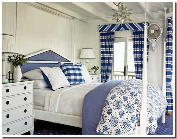 Blue And White Bedrooms 230 best blue and white rooms images on pinterest | bedrooms, home