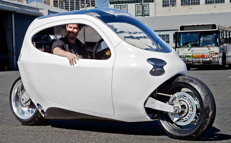 I'd drive one of these as my commuter ride. Lit Motors