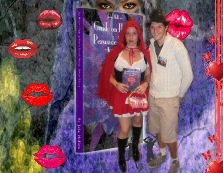 "Red Riding Hood with Aaron. Please Help Make this Viral by Clicking on ""Pin It"", ""Send"" & ""Like"" button which is a Red Heart"