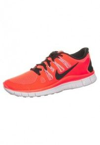 Nike Performance NIKE FREE 5.0  Obuwie do biegania Lekkość pomarańczowy