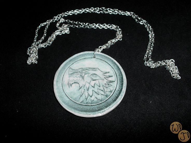 """This pendant is part of my new collection """"Game of Thrones Collection"""". You can find more photos on the Facebook page """"Wondeland Jewellery"""" Please like the page."""
